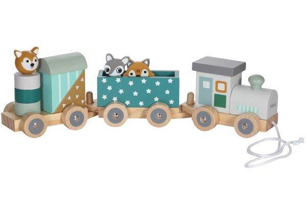 Kindsgut Holzeisenbahn Petrol