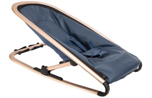 Kindsgut Babywippe Royalblau/Gold