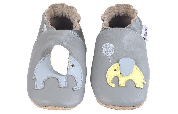 Kindsgut Krabbelschuhe Elefant