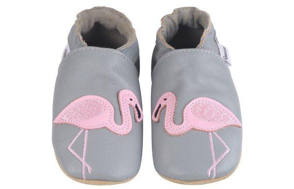 Kindsgut Krabbelschuhe Flamingo