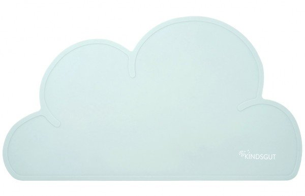 Kindsgut Platzdeckchen Wolke Aquamarin