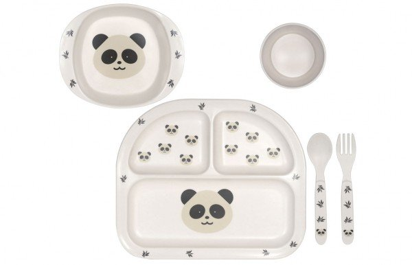 Kindsgut Geschirrset Panda