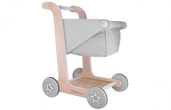 Kindsgut Einkaufswagen Grau